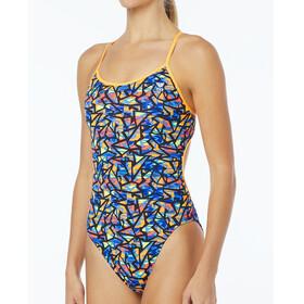 TYR Costa Mesa Trintyfit Bathing Suit Women orange/purple